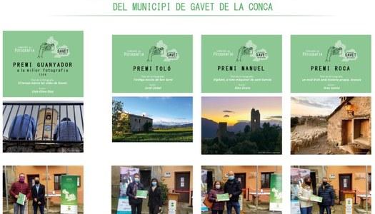 Coneix els guanyadors del concurs de fotografia de Gavet de la Conca