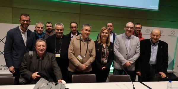 Representació de Lleida a la IX assemblea