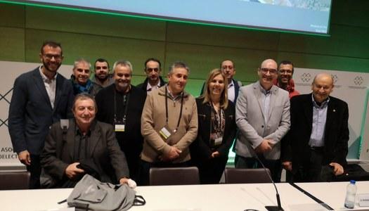 Gavet de la Conca a la IX Assemblea General de la Federació Nacional d'associacions i municipis amb centrals hidroelèctriques i embassaments