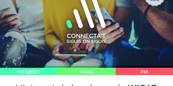 L'Internet de banda ampla arriba a Gavet de la Conca
