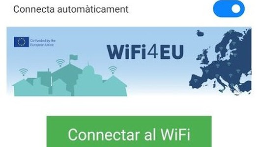Gavet de la Conca posa en funcionament 8 punts wifi gratuïts al municipi